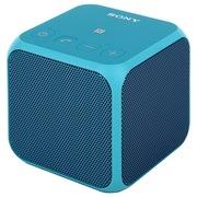 索尼 SRS-X11 音乐魔方 迷你音响 电脑蓝牙音响 无线便携式扬声器 蓝色