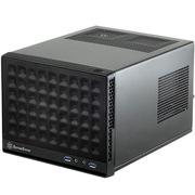 银欣 SG13B 珍宝13 黑色版ITX机箱(支持长显卡、ATX电源/支持水冷)