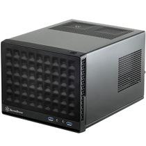 银欣 SG13B 珍宝13 黑色版ITX机箱(支持长显卡、ATX电源/支持水冷)产品图片主图