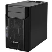 银欣 KL06B 忽必烈6 黑色版机箱(多硬盘槽位/带12公分风扇/支持水冷)