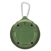 艾特铭客 M1Plus 户外三防蓝牙4.0音箱  可收音  插卡小音箱 大黄蜂升级版 军绿色