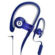 Beats Power 2 挂耳式运动耳机 蓝色 iphone线控带麦