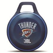 JBL CLIP NBA限量版 充电便携式户外小音箱 无线蓝牙迷你音箱 雷霆队