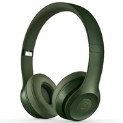 Beats Solo2 独奏者第二代皇家版 头戴式贴耳耳机 猎装绿 带麦