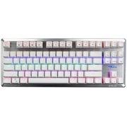 宜博 EKM727WRUS-IU K727 六色混彩机械键盘 87键 白色  红轴