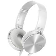 索尼 MDR-XB450AP 重低音 立体声耳机 白色