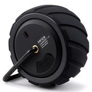 米粒 Campers1.0 露营者迷你蓝牙音箱 小轮胎车载户外无线便携音响 黑色