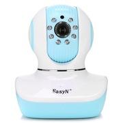 易视眼 蓝宝 婴儿监护仪 宝宝监视器 高清网络c无线摄像头 wifi 手机远程监控
