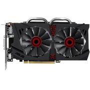 华硕 猛禽STRIX-GTX950-DC2-2GD5-GAMING 1190MHz/6610MHz 2GB/128bit DDR5 PCI-E 3.0 显卡