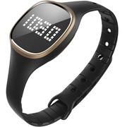 bong XX 恰到好处的智能手表 全自动监测睡眠/来电提醒/微信提醒/30米防水/25天待机 黑色