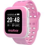 读书郎 W2 智能手表 儿童电话手表 GPS定位防丢失手环 360智能防护安全电话手表手机 粉色