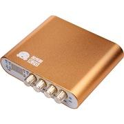 客所思 K20 USB外置声卡(香槟) 网络K歌 音乐发烧录音