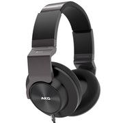 爱科技AKG K545 经典5系 时尚出街头戴包耳式耳机 支持Android iPhone双系统通话 合金转轴 可换线 黑色