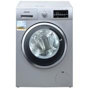 西门子 WD12G4681W 8公斤 洗烘一体变频滚筒洗衣机 除菌(银色)
