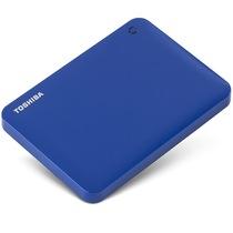 东芝 V8 CANVIO高端分享系列2.5英寸移动硬盘(USB3.0)3TB(神秘蓝)产品图片主图