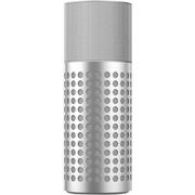 ROCKLAVA shout 无线WiFi智能音箱 APP控制 集成蓝牙 带遥控器 铂雅银