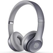 Beats Solo2 独奏者第二代皇家版 头戴式贴耳耳机 萤石灰 带麦