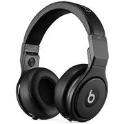 Beats Pro 录音师专业版 头戴包耳式耳机 Hi-End Detox复刻版 纯黑色 带麦