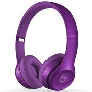 Beats Solo2 独奏者第二代皇家版 头戴式贴耳耳机 紫罗兰 带麦
