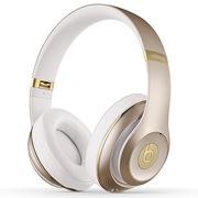 Beats Studio Wireless 录音师蓝牙无线版 头戴包耳式耳机 Hi-Fi降噪 香槟金 带麦双模