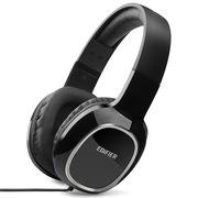 漫步者 K815P 多媒体全功能耳机 游戏耳机 电视耳机 电脑耳麦 黑色