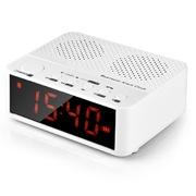 纽曼  BC-01 电脑蓝牙音箱 插卡小音箱低音炮 无线收音机闹钟迷你音响(白色)