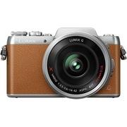松下 Lumix DMC-GF7 微型单电单镜套机 棕色 电动变焦版 自拍利器(12-42mm GF6升级版微单 DMC-GF7XGK-T)
