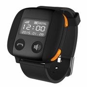 爱牵挂 S2 pro 老人智能定位手表 心率监测手环GPS卫星定位手表手机 SOS通话手表 典雅黑