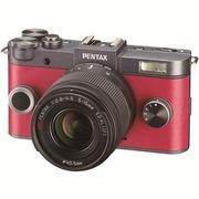 宾得 Q-S1 微型可换镜头相机(5-15/F2.8-4.5 )青铜色*胭脂红