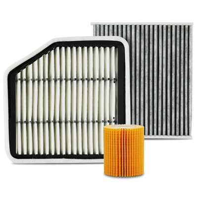 卡卡买 滤清器 高级三滤套装 机油滤芯/空气滤格/空调滤活性炭双效 锐志2.5/3.0(05-09年)专用产品图片2