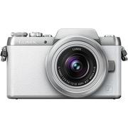 松下 Lumix DMC-GF7 微型单电双镜套机 白色(12-32mm+35-100mm 手动变焦 GF6升级版 DMC-GF7WGK-W)