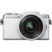 松下 Lumix DMC-GF7 微型单电单镜套机 白色 电动变焦版 自拍利器(14-42mm GF6升级版微单 DMC-GF7XGK-W)