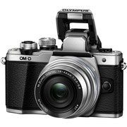 奥林巴斯 E-M10 MarkII-1442EZ 电动镜头 银色(5轴防抖 内置WiFi 电子快门 高速视频)