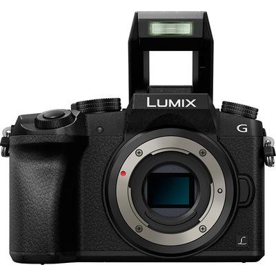 松下 Lumix DMC-G7 微型单电机身 黑色(DMC-G7GK-K)产品图片4