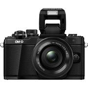 奥林巴斯 E-M10 MarkII-1442EZ 电动镜头 黑色(5轴防抖 内置WiFi 电子快门 高速视频)