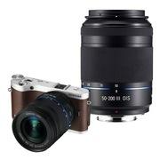 三星 NX300双镜头微单套机 棕色(18-50mm+50-200mm黑色双镜头全焦段)