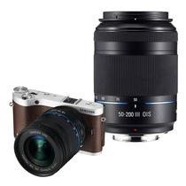 三星 NX300双镜头微单套机 棕色(18-50mm+50-200mm黑色双镜头全焦段)产品图片主图