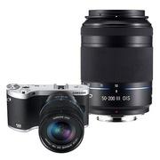三星 NX300微单电套机 黑色(18-50mm+50-200mm双镜头全焦段)