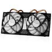 ARCTIC 双风扇1代 4热管 适用于6850/6870/5870/5850/250 静音显卡散热器