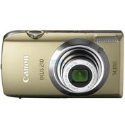 佳能  IXUS210 数码相机(棕榈金)