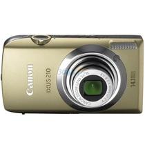佳能  IXUS210 数码相机(棕榈金)产品图片主图
