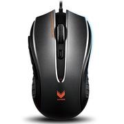 雷柏  V300 光学游戏鼠标 黑色