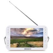辉邦 KK-S19  9英寸移动便携式电视机/看戏机/视频机/广场舞多功能移动机 白+金