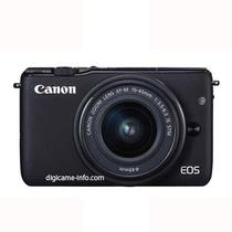 佳能 EOS M10 微单相机 单机身 黑色产品图片主图