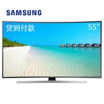 三星 UA55JU7800JXXZ 55英寸 4K超高清3D曲面智能 LED液晶电视 黑色产品图片主图