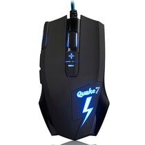 黑爵  Q7 有线游戏鼠标 黑色 背光发光鼠标LOL CF电脑专用电竞产品图片主图