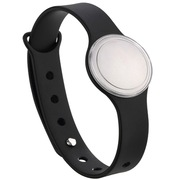 敏狐 FF-6C 智能炫彩手环 计步睡眠监测 健康可穿戴安卓IOS生活防水男女通用 黑色