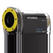 韩国现代 H3a 现代无线wifi运动摄像机户外运动DV (含头盔支架/自行车固定支架/30米防水壳) 黑色
