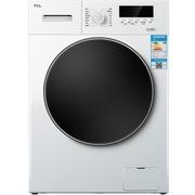 TCL XQG80-F12102THB 8公斤 变频防烫罩 滚筒洗衣机(芭蕾白)