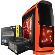 至睿 蜂巢GX10机箱 橙色+安钛克 VP450P电源(套装)